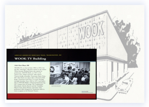 WOOK-TV building receives historical society designation
